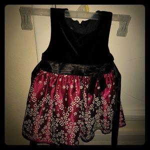 Other - Velvet holiday toddler dress